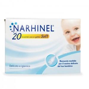 Narhinel Ricariche Usa E Getta Soft 20 Pezzi