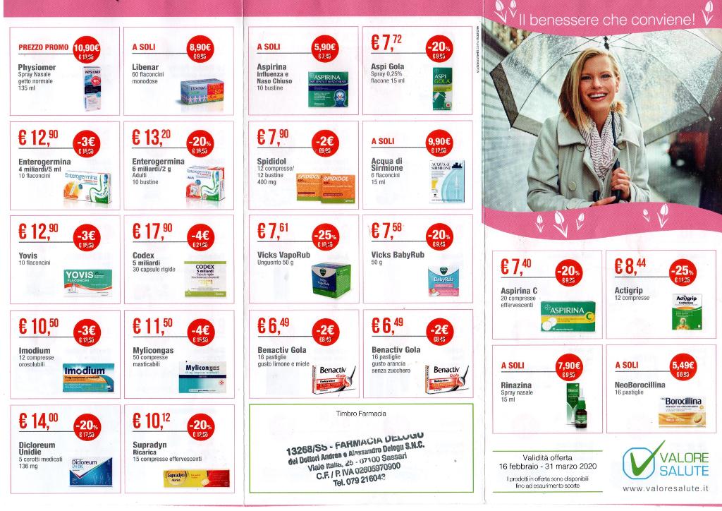 offerte-farmacia-delogu-sassari-febbraio-marzo-2020